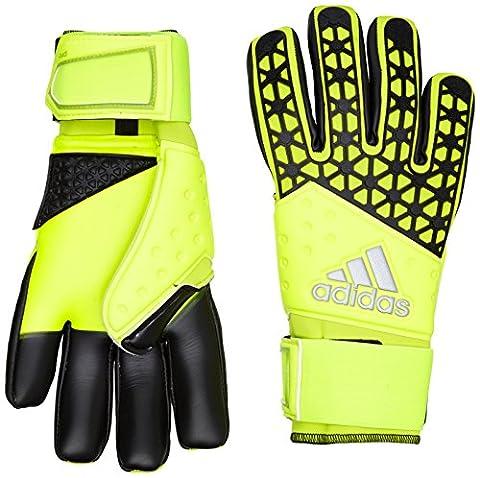 S90125 Adidas Zones Pro Gants de gardien de but, jaune solaire/jaune semi-solaire/noir, 12