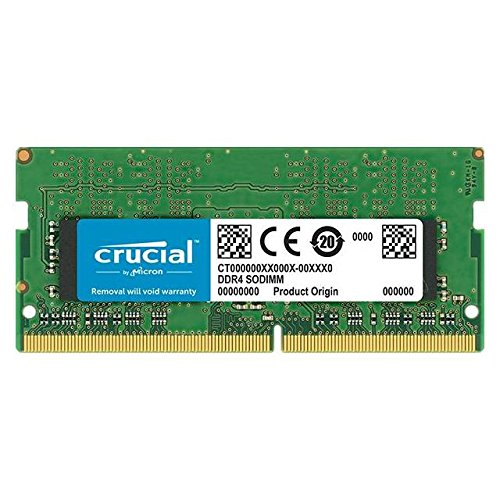 Crucial CT8G4SFD824A 8GB Speicher (DDR4, 2400 MT/s, PC4-19200, Dual Rank x8, SODIMM, 260-Pin) -