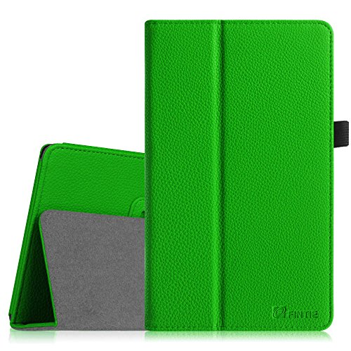 Fintie Folio Hülle Case Schutzhülle Tasche für 7 Zoll Tablet-PC Inklusive. iRULU Walknbook W2Mini Tablet PC Microsoft Windows 10 OS, CSL Panther Tab 7 inkl. Windows 8.1 - 7 Zoll (17,8cm) Tablet - Grün
