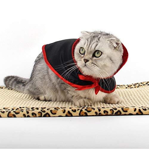 TOOGOO Halloween verkleidete Schal, um warm zu halten Superman Haustier Mantel Hund Katze Kleiner Mantel