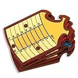 Spiele der Antike–Brettspiel, Holz Schläger Rot (Games Pico Pao 406-e)