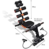 [Sponsored]ISABELLA Six Pack Abs Exercise Machine/ Exercise Equipment Machine 20 Different Mode For Exercise And Fitness