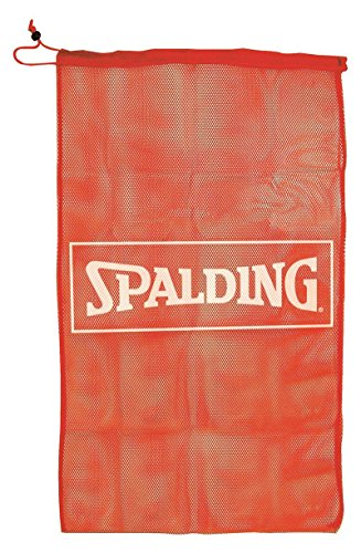 Spalding Basketball Mesh Bag (8361SCNR) Taschen, Rot, NOSIZE