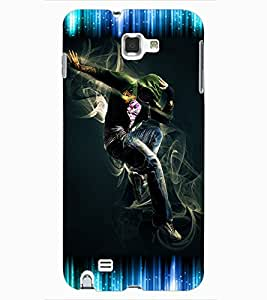 ColourCraft Dancing Boy Design Back Case Cover for SAMSUNG GALAXY NOTE 1