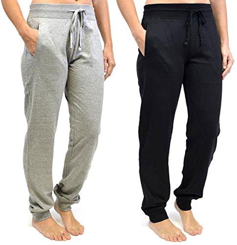 Tom Franks - Pantalon de sport - Pantalon - Femme Multicolore - Black-Grey