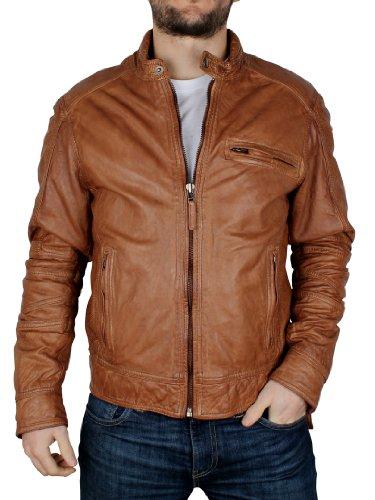 woodland-leathers-homme-leather-biker-jacket-marron-x-large