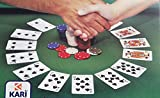 Generico Copritavolo per Gioco Carte Poker Adatto Tavolo Rettangolare e Ovale 150x240 cm