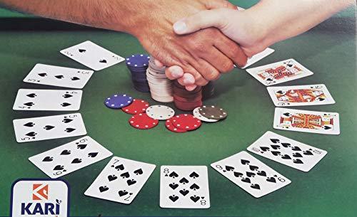 Generico Copritavolo per Gioco Carte Poker Adatto Tavolo Rettangolare e Ovale 150x240