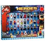 Brand New Heroes on Earth Figures 40pk