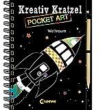 Kreativ-Kratzel Pocket Art: Weltraum (Kreativ-Kratzelbuch) -