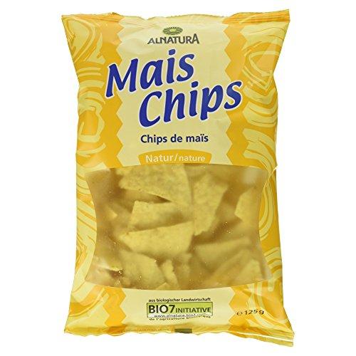 Alnatura Bio Mais Chips natur, 125 g