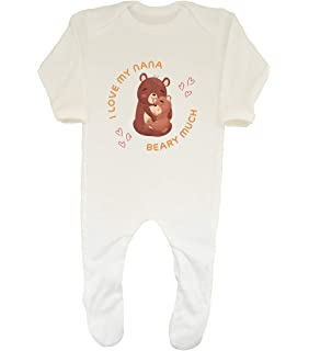 Shopagift I Love My Uncle Beary Much Baby Sleepsuit Romper