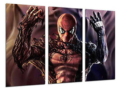 Cuadro Moderno Fotografico Superheroe, Spiderman, Comics, 97 x 62 cm, ref. 26539