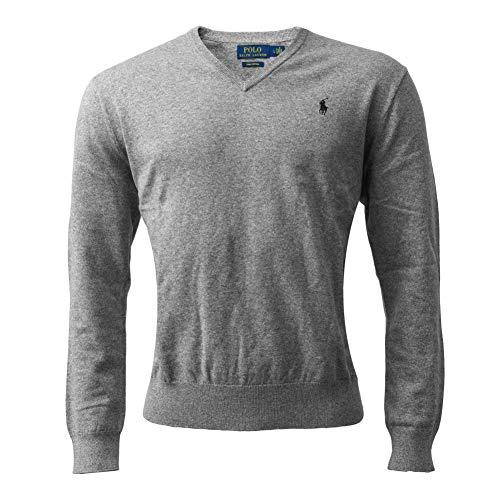 Polo Ralph Lauren Herren Sweatshirt/Pullover grau Gr. L (Large) NEU