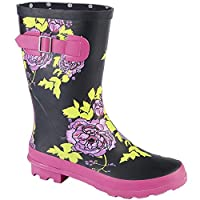 Woodland Womens/Ladies Mid Calf Wellington Boot