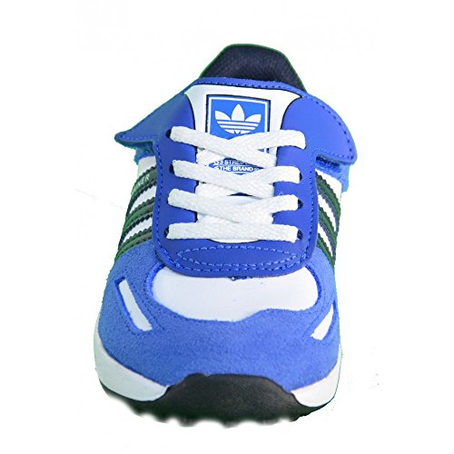 SCARPE LA TRAINER INFANT PELLE royal e bianco 2013 Adidas Originals ROYAL E BIANCO