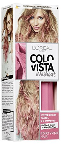 L'Oréal Paris Colovista 2-Week Washout #DIRTYPINKHAIR, Haarfarbe, auswaschbar nach 2-3 Haarwäschen, pinkfarben, DOITYOURWAY