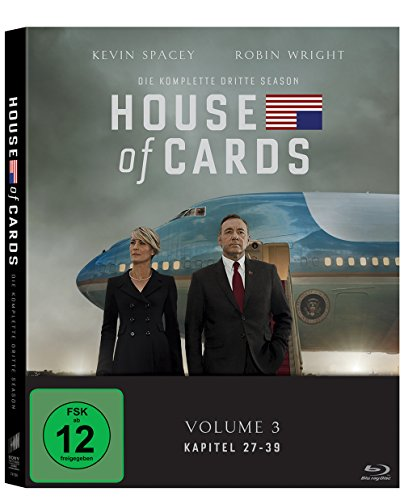 House of Cards - Season 3 [Blu-ray] (Office Episoden)