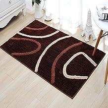 Un mostrador de recepción marrón y sucio felpudo puerta mat inicio salón sofá té rectangular unos pies dormitorio cama ,pad 90*130cm