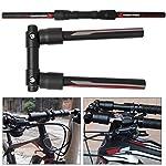 MAGT-Manubrio-per-Bici-Pieghevole-Pieghevole-Mountain-Bike-Scooter-Manubrio-Bicicletta-Accessorio-di-Ricambio-Fai-da-Te