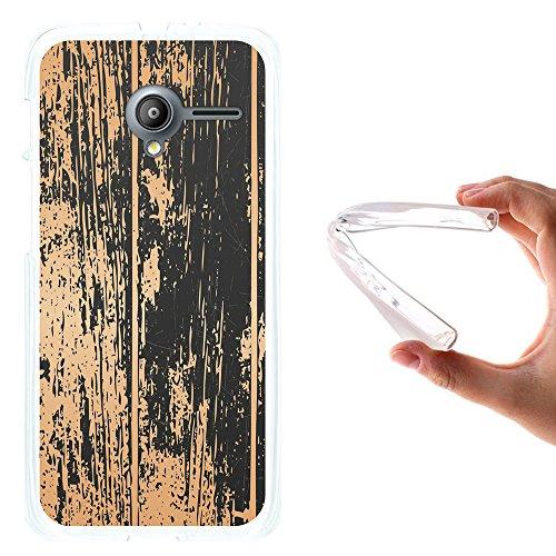 WoowCase Vodafone Smart Speed 6 Hülle, Handyhülle Silikon für [ Vodafone Smart Speed 6 ] Alter Wald Handytasche Handy Cover Case Schutzhülle Flexible TPU - Transparent