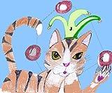Jewelz the Juggling Cat