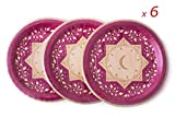 'OFFERTA 24 + 12 gratuite/grandi piatti in cartone alta qualità 'Buon Ramadan e felice Eid/ / 36 piatti in totale