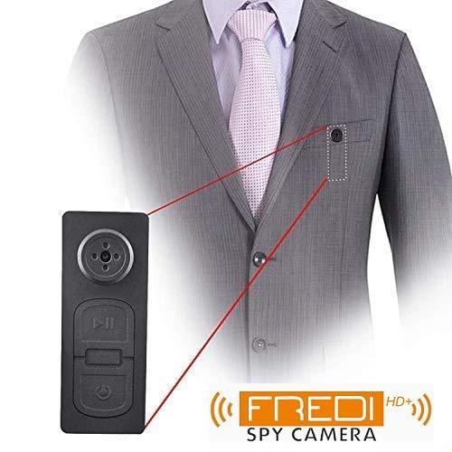 FREDI HD PLUS Spy India Spy Button Camera