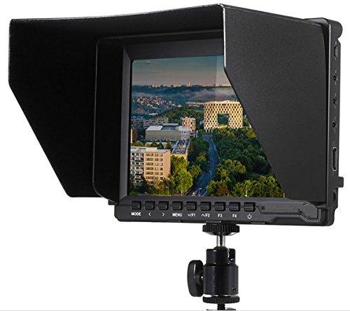 Preisvergleich Produktbild Gowe 17,8cm Ultra HD 1280* 800IPS Kamera LCD Bildschirm Monitor unterstützt 4K UHD für Panasonic GH4Sony A7S FS7Für BMPCC