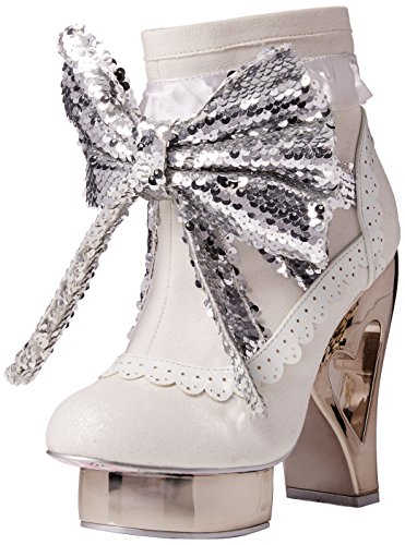 Irregular Choice Rosie With Love, Escarpins femme Blanc (Blanc)