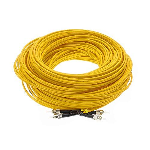 Cablematic Glasfaserkabel ST/ST PC/PC Singlemode 9/125 duplex 100m