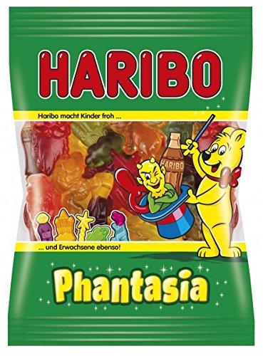 Haribo Phantasia, 6er Pack (6 x 200 g Beutel) (Rosa Zebra Party)