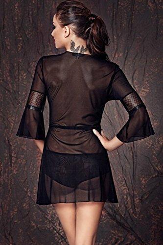anais apparel - Chemise de nuit - Femme Noir