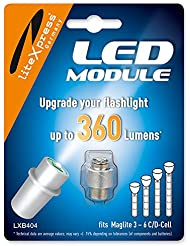 Litexpress Led Upgrade Modul 360 Lumen LXB404für Mag-Lite
