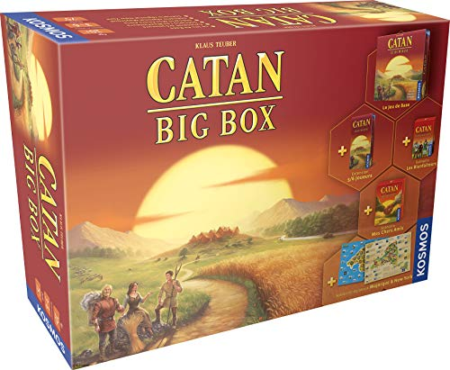 Asmodee- Catan: Big Box