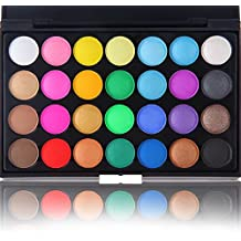 perfectii 28 colores cálidos Sombras palé Ultra Brillo Sombras de Maquillaje (cosmético