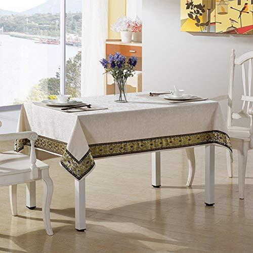 decke Teetisch Handtuch Hotel Tischdecke Tee Tischdecke Bedside Unikat Tischdecke A 135X135Cm(53X53Inch) (Color : C, Size : 140X220Cm) ()