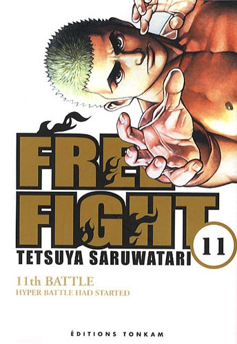 Free Fight vol. 11 par Tetsuya Saruwatari
