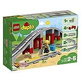 LEGODuplo Eisenbahnbrücke und Schienen 10872 Konstruktionsspielzeug hergestellt von LEGO