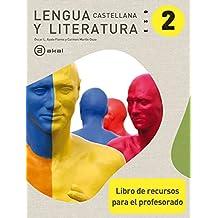 Lengua castellana y Literatura 2º ESO. Libro de recursos para el profesorado (Enseñanza secundaria) - 9788446035527
