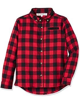 RED WAGON Camisa de Cuadros de Manga Larga para Niños