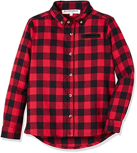 RED WAGON Camicia a Quadri Bambino, RED, 11 Anni