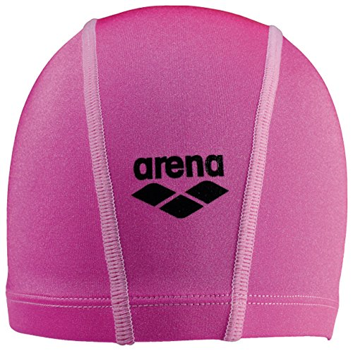 Arena Unix JR Gorro de Natación, Unisex Adulto, Fluo Pink, Talla Única