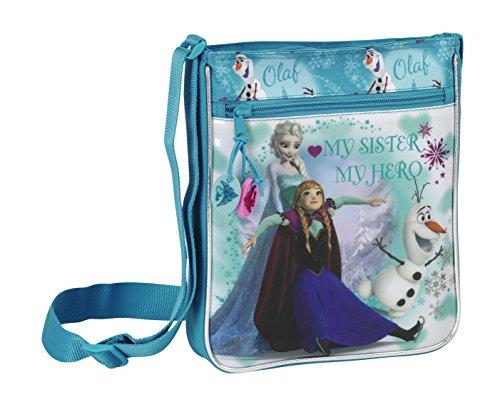 Disney Die Eiskönigin Schultertasche Tasche Schultasche 25x21x4,5 ELSA Anna (19) (Skating-taschen Für Mädchen)