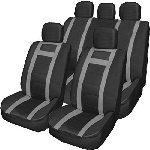 fiat-500-500l-500c-punto-uno-grey-black-universal-pu-leather-type-car-seat-covers-full-set