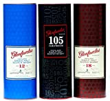 Glenfarclas 3er Pack 12 Years, 18 Years, 105er