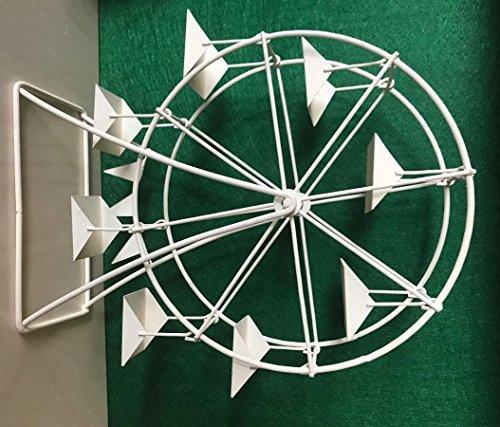 Dekop Miniatur Modell, Riesenrad, weiß Höhe 26cm (444444635096514) -