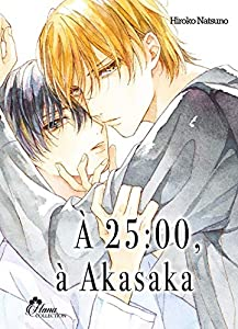 À 25:00 à Akasaka Edition simple One-shot