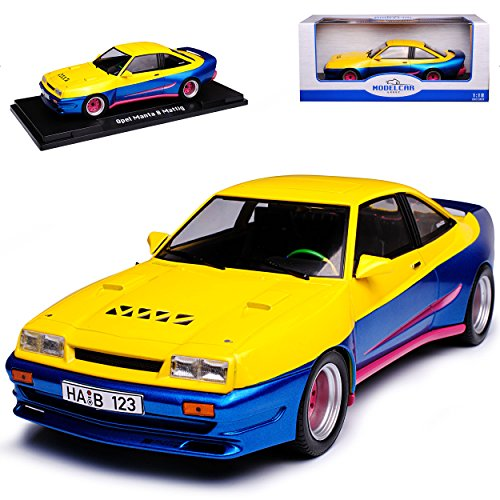 Model Car Group Opel Manta B Mattig Filmfahrzeug Manta Manta 1975-1988 1/18 Modell Auto