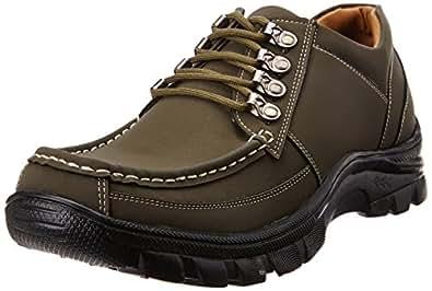 Bata Men's Rox Brown Trekking and Hiking Boots - 11 UK/India (45 EU) (8214094)
